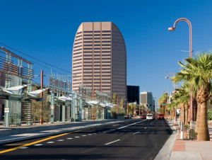 Central Avenue in Midtown Phoenix